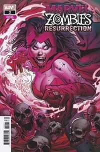 Marvel Zombies Resurrection #2 Variant Land