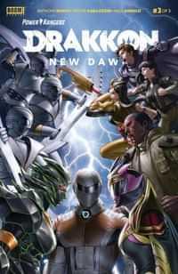 Power Rangers Drakkon New Dawn #3 CVR A