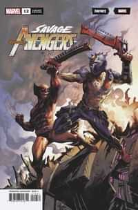 Savage Avengers #12 Variant Kubert Fortnite