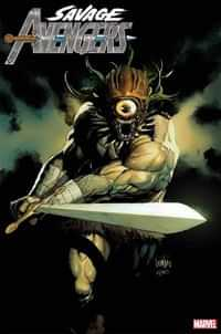 Savage Avengers #12 Variant Yu