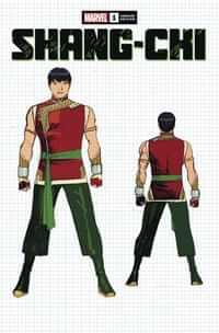 Shang-Chi #1 Variant 10 Copy Cheung Design
