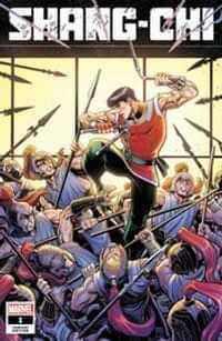 Shang-Chi #1 Variant 50 Copy Adams