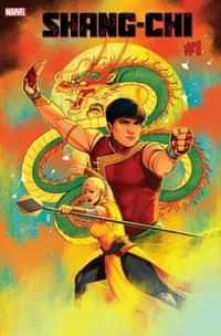 Shang-Chi #1 Variant 50 Copy Bartel