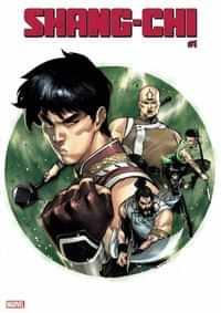 Shang-Chi #1 Variant Ruan
