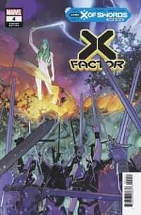 X-Factor #4 Variant Silva