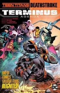 Teen Titans Deathstroke TP the Terminus Agenda