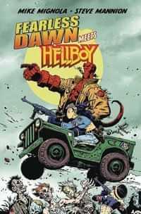 Fearless Dawn Meets Hellboy One- Shot CVR A Mannion