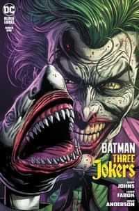 Batman Three Jokers #1 Second Printing Joker Shark