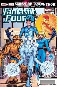 Fantastic Four #24 Second Printing Art Adams