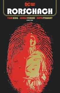 Rorschach #1 CVR A Jorge Fornes