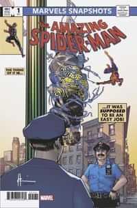 Spider-man Marvels Snapshot #1 Variant Chaykin