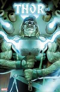 Thor #8 Variant Frankensteins Thor Horror