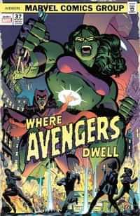 Avengers #37 Variant Rodriguez Where Avengers Dwell Horror