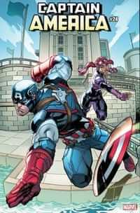Captain America #24 Variant Mcguinness Fortnite