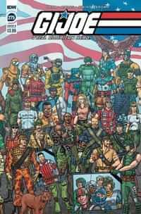 Gi Joe #275 A Real American Hero CVR B Sullivan