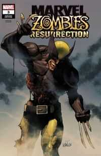 Marvel Zombies Resurrection #3 Variant Leinil Francis Yu