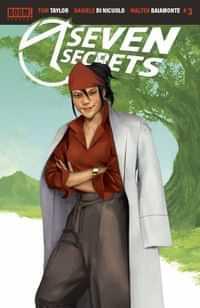 Seven Secrets #3 Variant 10 Copy Mercado Connecting