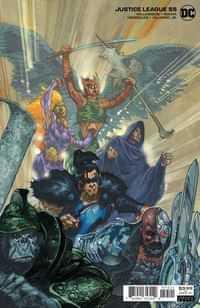 Justice League #55 CVR B Simone Bianchi