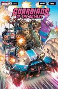 Guardians Of The Galaxy #7 Variant Garron Fortnite