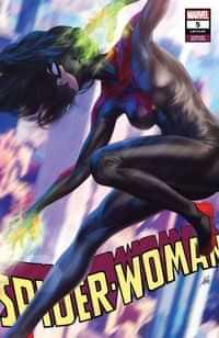 Spider-Woman #5 Variant Artgerm Black Costume