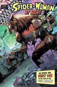 Spider-Woman #5 Variant Gleason Spider-woman Night Horror