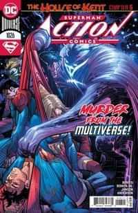 Action Comics #1026 CVR A John Romita Jr and Klaus Janson
