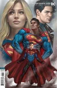 Action Comics #1026 CVR B Lucio Parrillo
