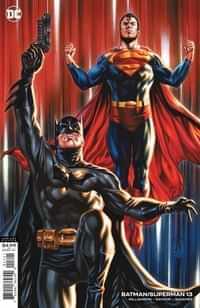 Batman Superman #13 CVR B Cardstock Mark Brooks