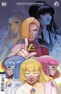 Legion Of Super-heroes #10 CVR B Darko Lafuente