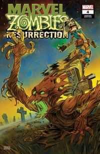 Marvel Zombies Resurrection #4 Variant Ortiz