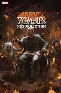 Marvel Zombies Resurrection #4 Variant Skan