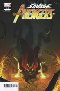 Savage Avengers #13 Variant Boss Logic Var