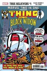 True Believers One-Shot Black Widow and The Thing