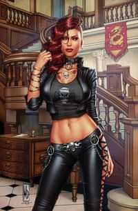 Van Helsing Vs League Monsters #6 CVR C Dipascale