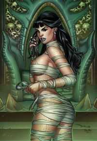 Van Helsing Vs League Monsters #6 CVR D Santacruz