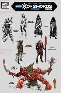 X Of Swords Stasis #1 Variant 10 Copy Larraz Design