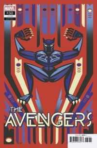 Avengers #38 Variant Veregge Black Panther