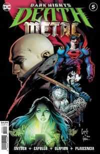 Dark Nights Death Metal #5 CVR A Greg Capullo Embossed Foil