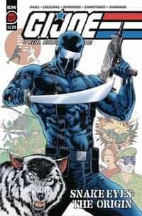 Gi Joe A Real American Hero Snake Eyes Origin Second Printing