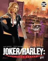 Joker Harley Criminal Sanity #6 CVR B Jason Badower