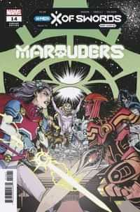 Marauders #14 Variant Hamner