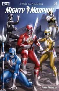 Mighty Morphin #1 CVR C Yoon Connecting