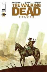 Walking Dead #2 Deluxe Edition CVR D Tedesco