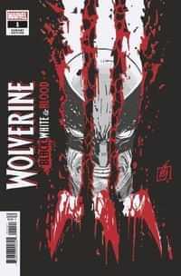 Wolverine Black White Blood #1 Variant Garney Var