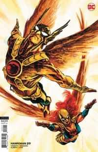 Hawkman #29 CVR B Sebastian Fiumara