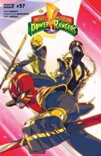 Power Rangers #1 CVR B Nicuolo