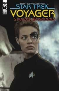 Star Trek Voyager Sevens Reckoning #1 CVR B Photo