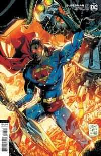 Superman #27 CVR B Tony S Daniel and Danny Miki