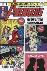 Avengers Marvels Snapshot #1 Variant Staz Johnson Var