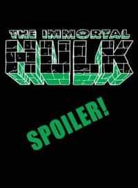 Immortal Hulk #40 Variant Young Spoiler